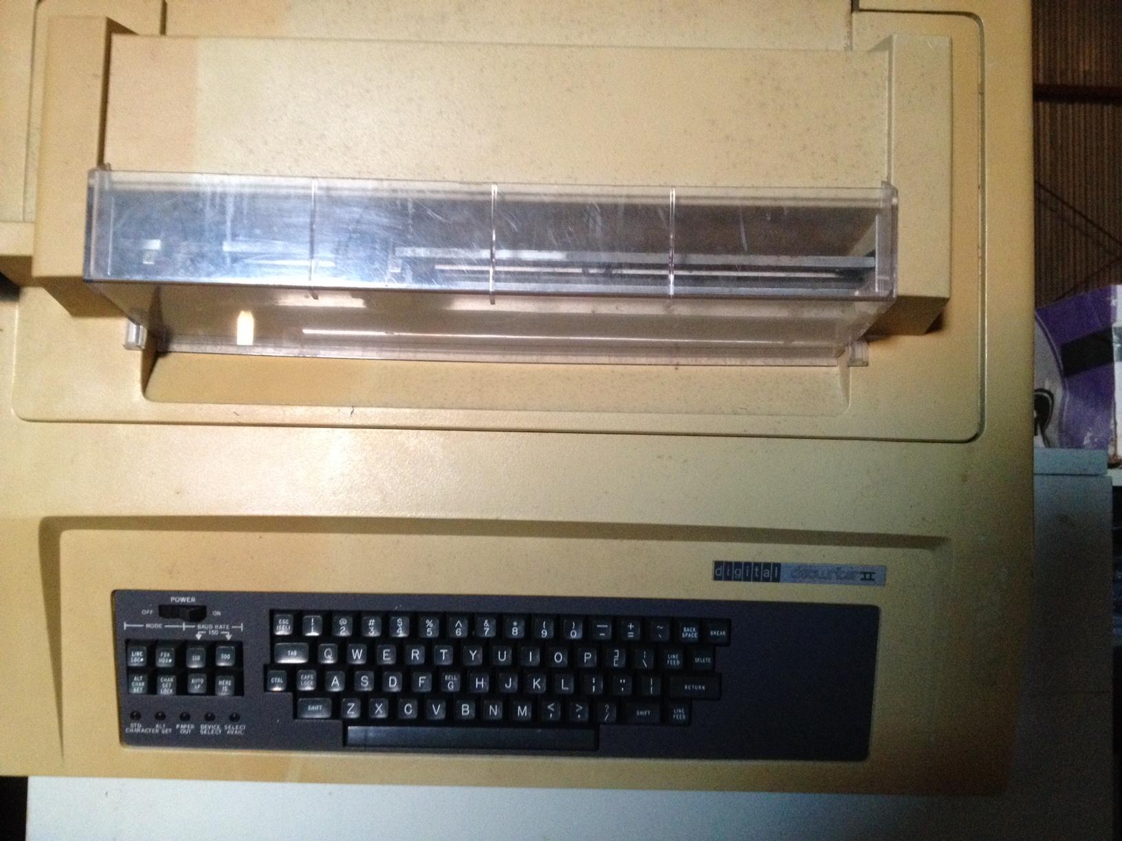 Decwriter II