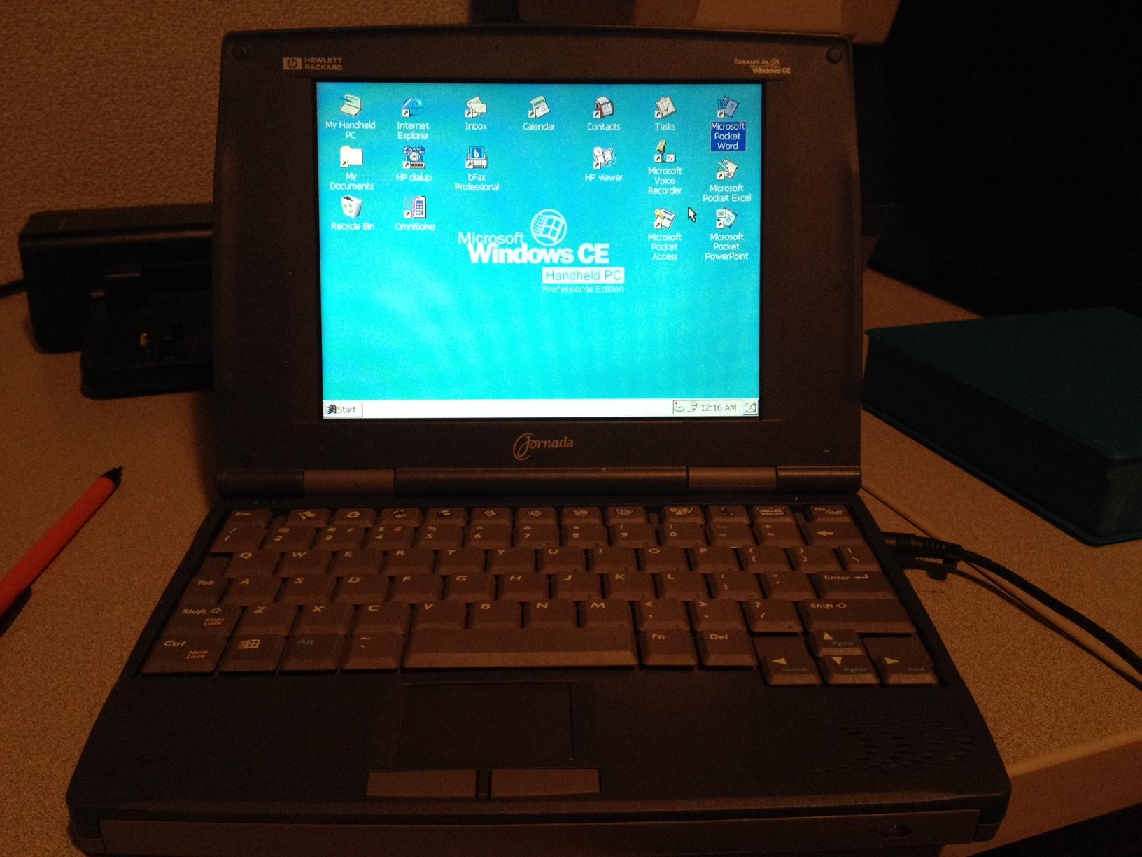 HP Jornada 820