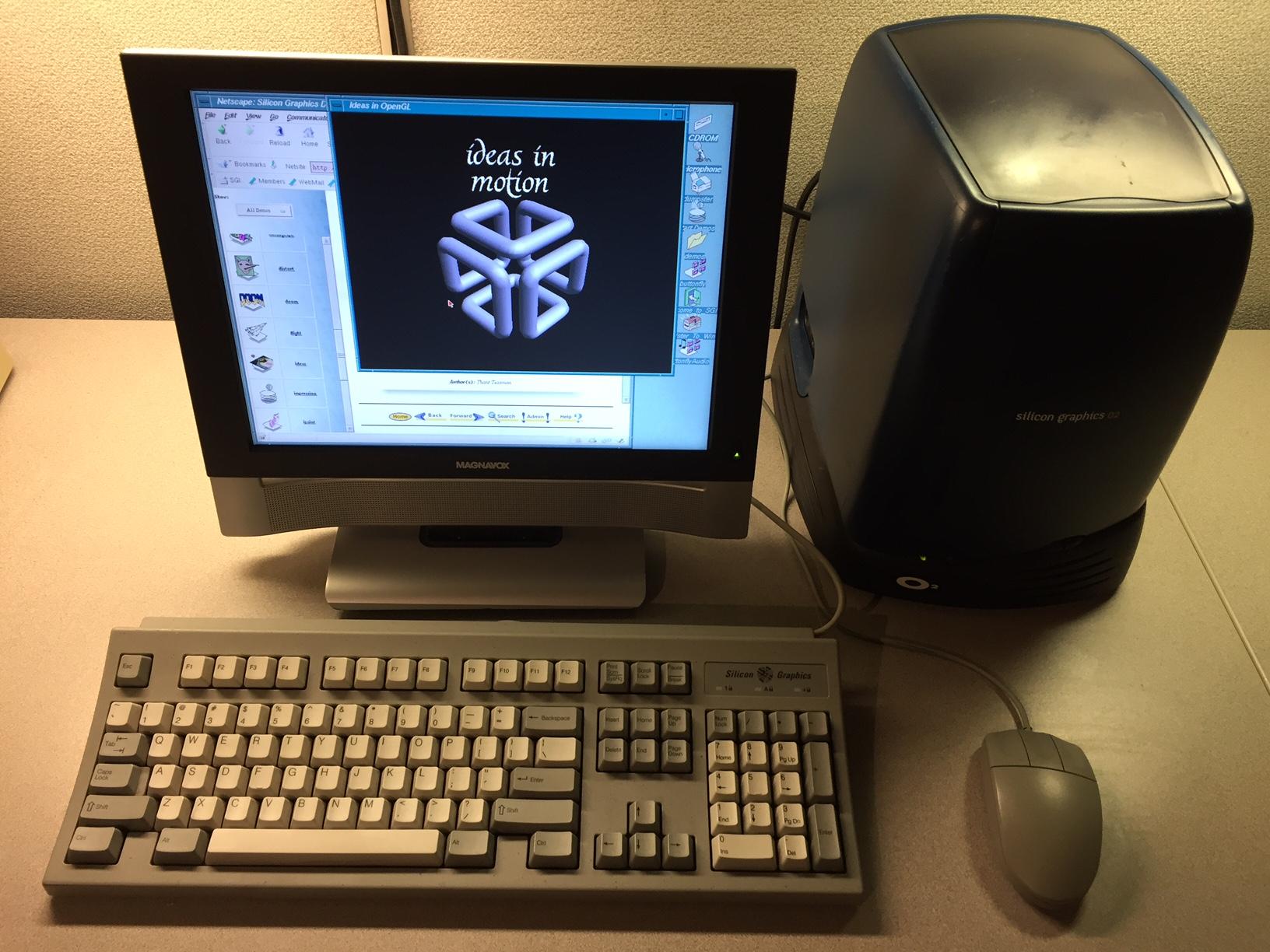 Silicon Graphics O2 Virginia Computer Museum